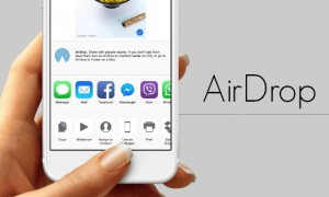 Как включить AirDrop в iPhone X, 8, 7, 6s (iOS 11)